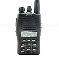 Håndholdt Dobbelt båndFM-radio Nød Alarm Programmerbar med datasoftware Strømsparefunksjon Lader og adapter VOX bakgrunnsbelysning