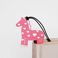 cavalo marcador de aço inoxidável 1 pcs de cor aleatória