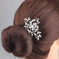 Umjetno drago kamenje / Legura Kose za kosu / Šeširi s Cvjetni print 1pc Vjenčanje / Special Occasion Glava