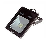 tanie Naświetlacze-1 szt. 20 W Reflektory LED Wodoodporny / Dekoracyjna Ciepła biel / Zimna biel 100-240 V Oświetlenie zwenętrzne / Dziedziniec / Ogród 1 Koraliki LED