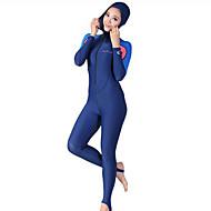 Dive&Sail Žene Ronilačko odijelo kože Ultraviolet Resistant Kompletna maska Kompresija Tactel Ronilačka odijela Ronjenje
