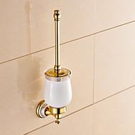 Tuvalet Fırçası Tutacağı Banyo Gereçleri / Ti-PVD Neoklasik