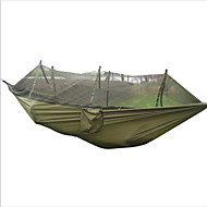 Turhengekøye med myggnett Fukt-sikker Bærbar Anti-Insekt Pusteevne til Jakt Vandring Camping Reise Utendørs