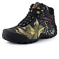 Bărbați Pantofi Țesătură Primăvară Toamnă Confortabili Mocasini & Balerini Drumeții Dantelă Pentru Casual Gri Galben