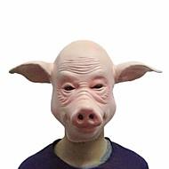 varken maskers cosplay volledige gezicht halloween partij festival partij rubber kostuum grappig volledig hoofd masker dress party props