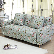 Contemporary Polyester Sofa Cover, Easy To Install Floral Printed Slipcovers