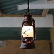 cheap -Vintage Country Pendant Light Ambient Light - LED, 110-120V 220-240V, Yellow, Bulb Not Included