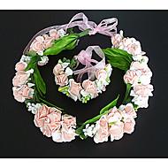 economico Corone, diademi e accessori per capelli sposa-Tessuto Corone 1 Matrimonio Copricapo