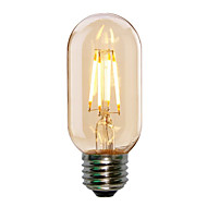 1pc 4W E27 T45 Edison Style Antique LED Filament Tubular Light Bulb(220-240V)