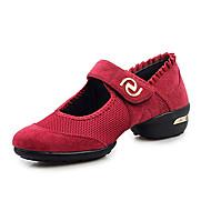 billige Moderne sko-Dansesko(Svart Rød Grønn) -Dansesko-Kan ikke spesialtilpasses-Lav hæl