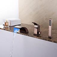 お買い得  浴槽用蛇口-浴槽用水栓 - アンティーク アールデコ調 / レトロ風 近代の オイルブロンズ ローマンバスタブ セラミックバルブ