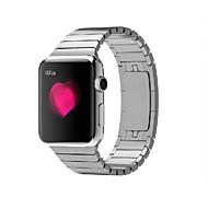 tanie -Watch Band na Apple Watch Series 3 / 2 / 1 jabłko Zapięcie motylkowe Stal nierdzewna Opaska na nadgarstek