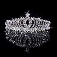 Kadın's / Genç Kız Düğün / Gelin Gümüş Kaplama / alaşım Korona