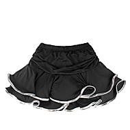 cheap Dancewear & Dance Shoes-Latin Dance Tutus & Skirts Children's Training Milk Fiber Ruffles Sleeveless Natural Skirt