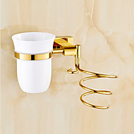 Bathroom Gadget / Gold Brass Zinc Alloy /Contemporary