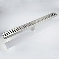 お買い得  ブラッシュドニッケル Series-排水口金具 コンテンポラリー ステンレス鋼 1枚 - ホテルバス