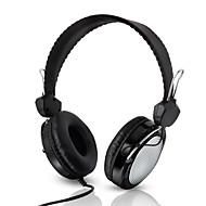 abordables Auriculares Tipo Casco-Kubite T-420 Sobre el oído / Cinta Con Cable Auriculares El plastico Teléfono Móvil Auricular Con control de volumen / Con Micrófono /