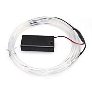 billige -batteridrevet 2 LED 5m fiber optisk ledet lys for festivaldagen Thanksgiving nyttår bursdagsfest