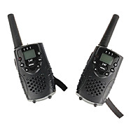 billige Walkie-talkies-T667446B Walkie-talkie 0.5W 8 Channels 400-470 mHz AA alkaline battery 3-5 kmVOX / bakgrunnsbelysning / Kryptering / Programmeringskabel