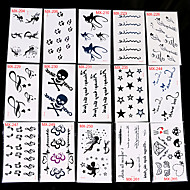 cheap Temporary Tattoos-30 Non Toxic Pattern Others Tattoo Stickers