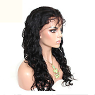 cheap Wigs & Hair Pieces-Unprocessed Virgin Brazilian Body Wave Glueless Full Lace Human Hair Wigs Top Quality 120% Density Lace Wigs
