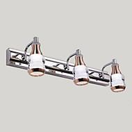 tanie Oświetlenie lustra-Modern / Contemporary Oświetlenie łazienkowe Na Metal Światło ścienne IPX4 110-120V 220-240V 9WW