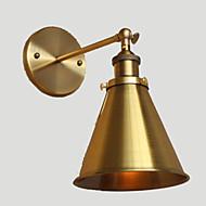 billige Vegglamper-Rustikk / Hytte Vegglamper Metall Vegglampe 220V / 110V 40W / E26 / E27