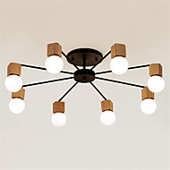 cheap Chandeliers-Modern/Contemporary / Mini Style Painting Metal Flush MountLiving Room / Bedroom / Dining Room / Kitchen