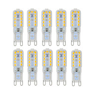 ieftine -ywxlight® g9 6w 450-550lm led led bi-pin 22 margele led smd 2835 dimmable cald alb rece alb natural 220v 110v