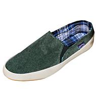 baratos Sapatos Masculinos-Homens Sapatos Confortáveis Jeans Primavera / Inverno Mocassins e Slip-Ons Caminhada Antiderrapante Marron / Vermelho / Verde