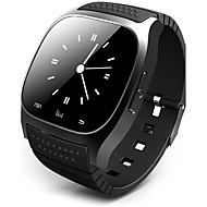 Men's Smartwatch Digital Watch Digital Rubber Black / White / Blue Touch Screen Alarm Calendar / date / day Digital Luxury - White Black Blue / Remote Control / RC / Pedometers / Fitness Trackers