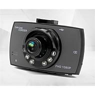g30 480p / 720p / 1080p Autós DVR 120 fok Nagylátószögű 4.3 hüvelyk Dash Cam val vel Mozgásérzékelés Autós felvevő