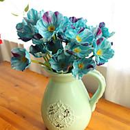 10 10 ענף PU Others פרחים לשולחן פרחים מלאכותיים 32CM