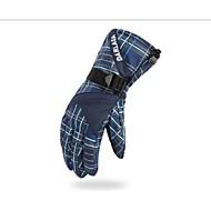 GQY® Herrn Fahrradhandschuhe Skihandschuhe Vollfinger warm halten Windundurchlässig Wasserdicht Sporthandschuhe Baumwolle Faser