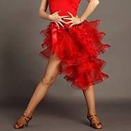 cheap Dancewear & Dance Shoes-Latin Dance Tutus & Skirts Women's Performance Viscose Draping Sleeveless Natural Skirt