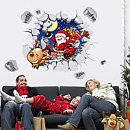 アートデコ 現代風 ウインドウステッカー,PVC /ビニール 材料 窓の飾り
