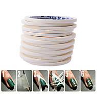 1 pcs Nail Foil Striping Tape Negle kunst Manicure Pedicure Mode Daglig / Folie Stripping Tape
