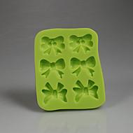 Grønne buer form sjokolade godteri 3d silikon fondant mold dekorasjon bakervarer kjøkken tilbehør farge tilfeldig