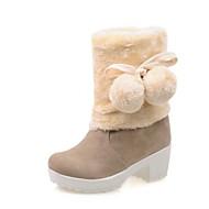 baratos Sapatos Femininos-Mulheres Sapatos Sintético / Couro Envernizado / Courino Outono / Inverno Inovador / Botas Cowboy / Country / Curta / Ankle Saltos / Laço