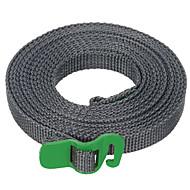 FURA Polypropylene Tie Down Strap Tying Webbing Rope with  Hook - Green / Orange