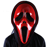 死の恐怖ゴーストの神は、フェイスマスクハロウィーンの魔女皮肉口の吸血鬼のマスク悲鳴を叫びました