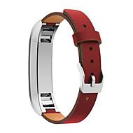 billiga Smart klocka Tillbehör-Klockarmband för Fitbit Alta Fitbit Klassiskt spänne Läder Handledsrem