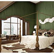 billige Tapet-Ensfarget Art Deco 3D Tapet til Hjemmet Moderne Tapetsering , U-vevet stoff Materiale selvklebende nødvendig bakgrunns , Tapet