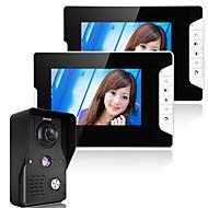 billige Dørtelefonssystem med video-960*480 120 CMOS Doorbell System Trådløs Multifamily video ringeklokke