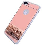 billiga Mobil cases & Skärmskydd-fodral Till Apple iPhone 7 / iPhone 7 Plus / iPhone 6 Spegel Skal Andra Hårt PC för iPhone 7 Plus / iPhone 7 / iPhone 6s Plus