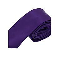 Homens Festa / Trabalho / Básico Gravata Sólido