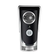 684*480 160 CMOS Sistemul doorbell Fără fir Fotografiat / Înregistrare / Sonerie video multifamilială
