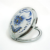 Zrcadlo na líčení Neoklasika Modrá,Vysoká kvalita Zrcadlo