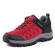 billige Træningssko til damer-Sportssko-PU-Komfort-Damer--Udendørs-Flad hæl