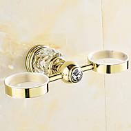 歯ブラシホルダー 浴室小物 / アンティーク真鍮 ネオクラシック